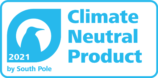 Certified Climate Neutral Product by South Pole